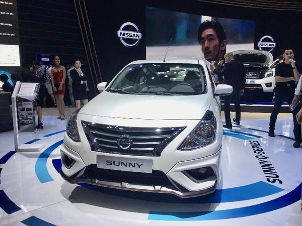 Nissan Sunny có doanh số thấp nhất trong phân khúc xe hạng B.