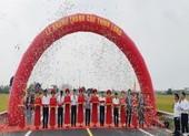 Bộ GTVT thông xe cầu 1.158 tỉ đồng nối liền hai bờ Ninh Cơ