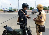 Mức xử phạt cho người tham gia giao thông không có bằng lái xe