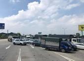 Đề nghị bố trí công an dẫn đường cho xe vận tải hàng hóa qua chốt kiểm dịch