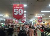 Trung tâm thương mại, siêu thị TP.HCM khuyến mại đến 90%