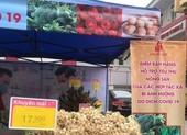 Siêu thị TP.HCM bán nông sản Hải Dương không lợi nhuận