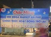 Siêu thị MM Mega Market An Phú chính thức được gỡ phong tỏa