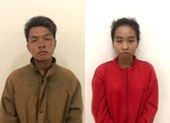 Đôi nam nữ dẫn theo hai con nhỏ đi cướp giật tài sản