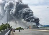 Nhà Bè: Cháy lớn tại công ty thực phẩm rộng hàng ngàn m2