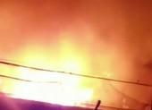 Cháy bãi giữ xe vi phạm Công an TP Thủ Đức
