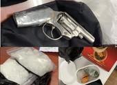 Phá đường dây mua bán ma túy có sử dụng súng và lựu đạn