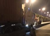 Tài xế container tử vong khi đang lái xe lúc rạng sáng