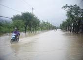Bình Định: Lũ bất ngờ, nhiều khu vực bị ngập