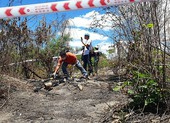 Công an Bình Thuận tìm tung tích nạn nhân vụ thi thể bị cháy