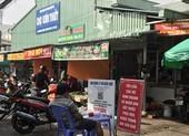 Tạm ngừng hoạt động hai khu chợ truyền thống ở TP Thủ Đức