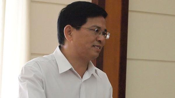 Ông Nguyễn Văn Lực, Cục trưởng cục thi hành án dân sự Tp.HCM tại buổi làm việc Ảnh: H.Điệp