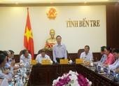 Phó Chủ tịch Quốc hội Phùng Quốc Hiển làm việc tại Bến Tre