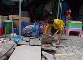 Video: Báo động tình trạng mất nắp cống thoát nước ở TP.HCM