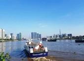 Lộ trình của tàu cao tốc chở hàng hóa thiết yếu từ miền Tây về TP.HCM