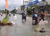 Đường phố Cà Mau tan hoang trong trận lụt lịch sử