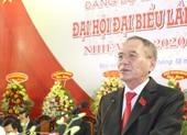 Bí thư Tỉnh ủy Bạc Liêu đạt 100% tín nhiệm giới thiệu tái cử