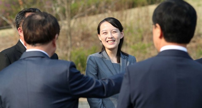 Em gái ông Kim 'đe' Ngoại trưởng Hàn về COVID-19 ở Triều Tiên