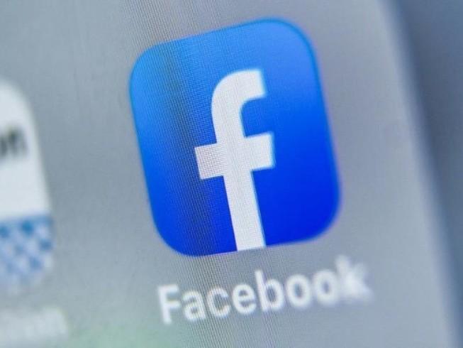 Logo ứng dụng mạng xã hội Facebook.