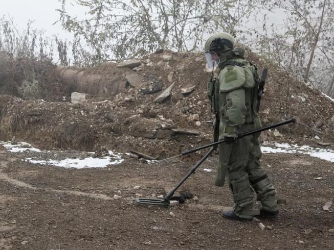 Công binh Nga thiệt mạng tại Nagorno - Karabakh