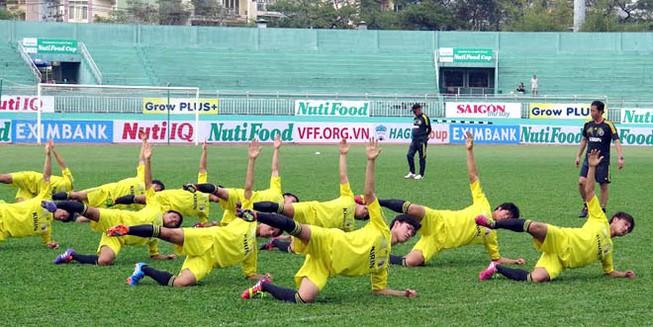 Giải giao hữu U19 quốc tế 2014: Chờ màn ra mắt của 4 đội