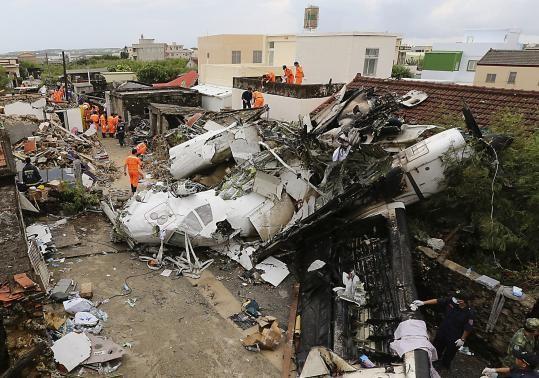 Thời tiết không phải là nguyên nhân vụ tai nạn máy bay ở Đài Loan