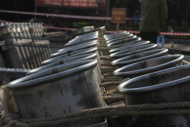 Hà Nội: Sẵn sàng khai hỏa 31 trận địa pháo trong đêm giao thừa