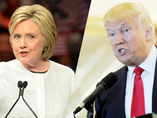 Infographics:Trump-Clinton trước cuộc tranh luận thứ 2