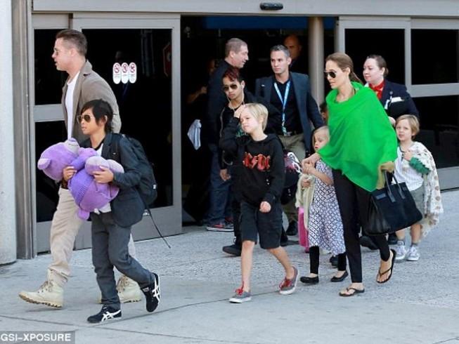 Brad Pitt bị tước quyền thăm các con
