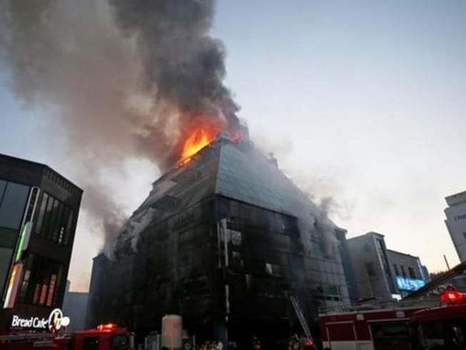 Cháy lớn tại Hàn Quốc, 29 người thiệt mạng