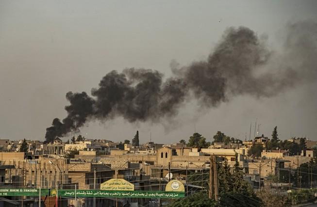 Quân Mỹ trúng pháo kích từ Thổ Nhĩ Kỳ
