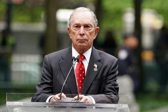 Tỉ phú Bloomberg chi 30 triệu USD cho 60s quảng cáo tranh cử