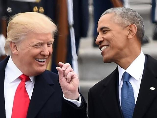 Ông Trump và ông Obama cùng được ngưỡng mộ nhất năm 2019