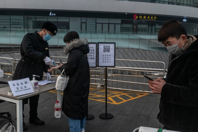 Bắc Kinh cách ly người từ quê trở về để phòng dịch COVID-19