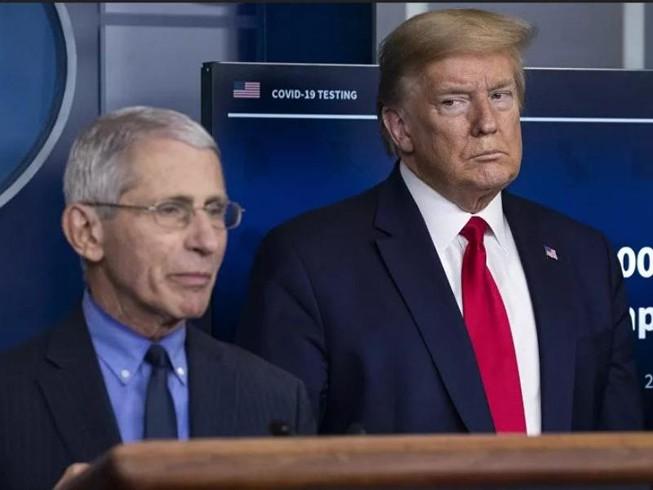 Ông Fauci: Ông Trump may mắn thoát chết khi nhiễm COVID-19