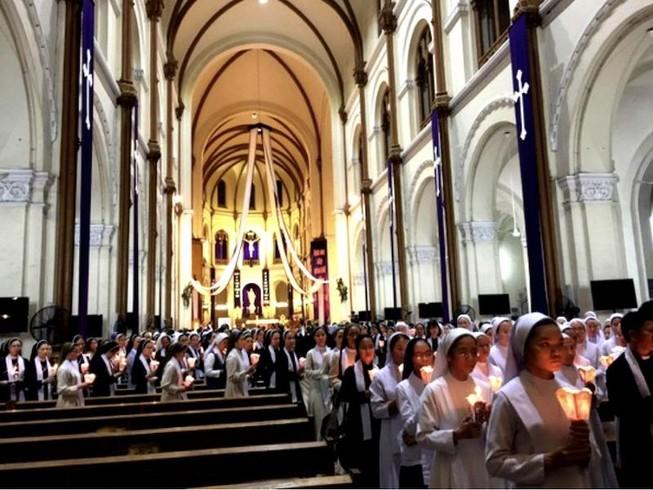 201 giáo xứ ở TP.HCM không tĩnh tâm Mùa Chay vì COVID-19