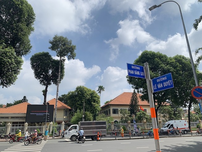 Đường Đinh Tiên Hoàng trước ngày đổi thành Lê Văn Duyệt