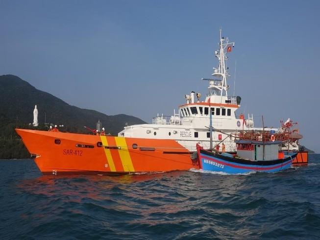 Lực lượng phòng dịch COVID-19 sẽ cùng lên tàu cứu nạn hàng hải