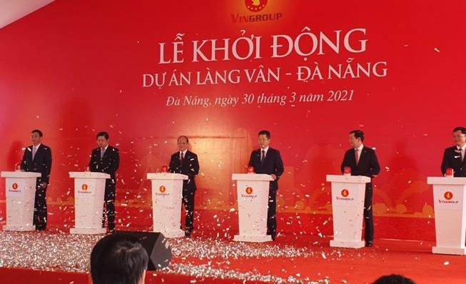 Đà Nẵng chính thức khởi động dự án Làng Vân 35.000 tỉ đồng