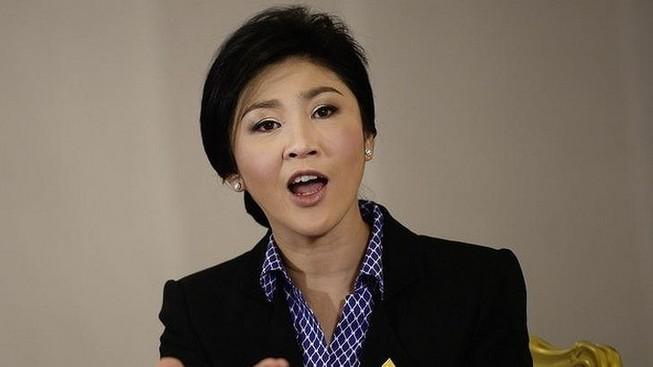 """Nữ thủ tướng Yingluck: """"Các bạn hãy chiến đấu bằng lá phiếu"""""""