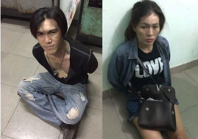 Bắt cặp tình nhân 'thủ' súng đi bán ma túy