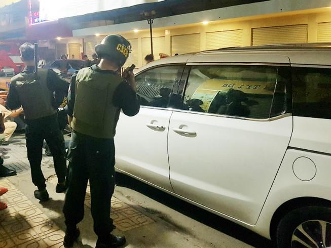 Bắt 38 người vụ giang hồ nổ súng tối 30 Tết ở Biên Hòa
