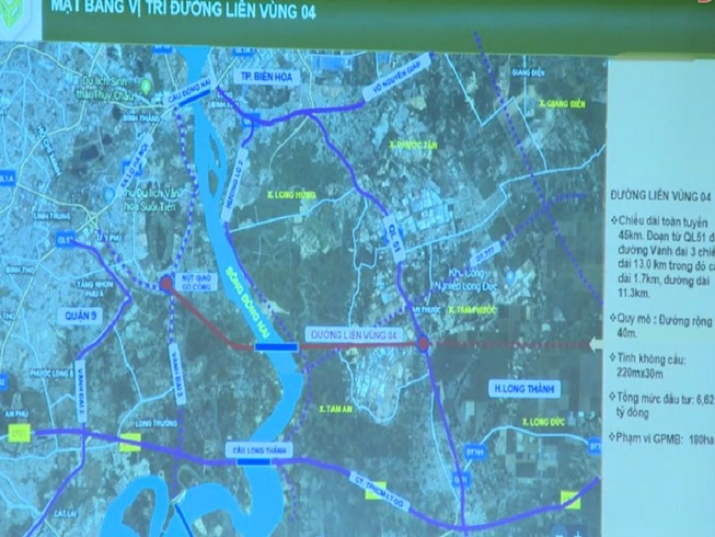 Đầu tư 6.600 tỉ làm đường liên vùng Đồng Nai kết nối TP.HCM