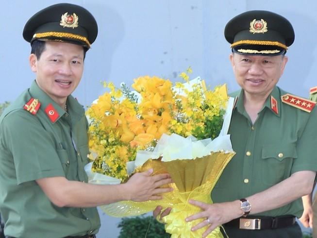 Bộ trưởng Tô Lâm làm việc với Công an Đồng Nai