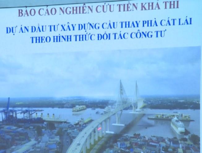 Cầu Cát Lái sẽ được xây dựng như thế nào?