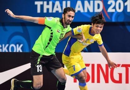 Giải Futsal Cúp C1 châu Á:Sanna Khánh Hòa dừng bước tại tứ kết