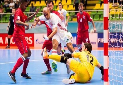 Futsal World Cup: Nhà vô địch châu Á có chiến  thắng đầu