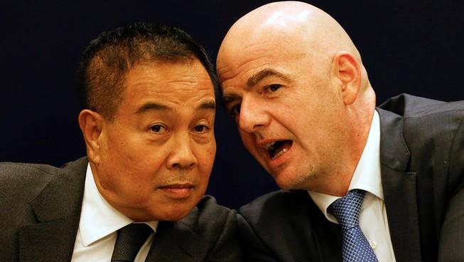Bóng đá Thái sang trang mới có sự 'chứng giám' của FIFA