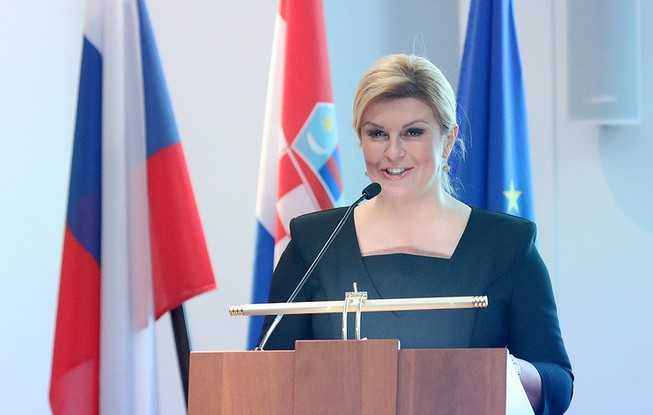 Nữ tổng thống Croatia khen Nga và mong Croatia thắng