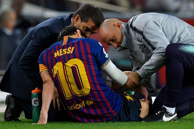 El Clasico thiếu Messi